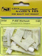 CMK 1/48 P-40E Warhawk armamento Set Para Hasegawa # 4154