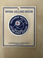National Air & Space Museum New On Card Iron-On Souvenir Vintage Patch NASA