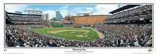 Baltimore Orioles OPENING DAY AT CAMDEN YARDS Panoramic Poster Print by Rob Arra