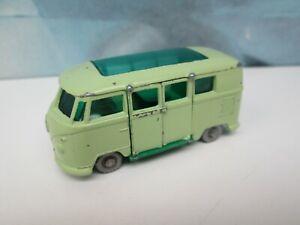 Matchbox/ Lesney 34b Volkswagen Caravette Green - SILVER Plastic Wheels