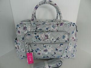 Vera Bradley Weekender Travel Bag Carry-on Performance Twill in Park Stripe