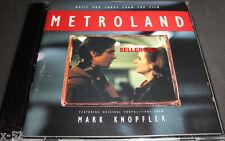 METROLAND soundtrack CD Mark KNOPFLER Django Reinhardt Elvis Costello Stranglers