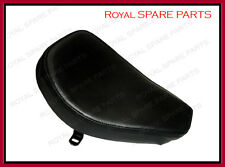 Royal Enfield Front Solo Seat Black Leather Bullet Norton BSA Trump & Other