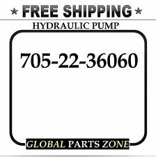 NEW HYDRAULIC PUMP for KOMATSU HD205-3 705-22-36060 7052236060 FREE SHIPPING!!!