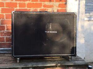 Empty 2X12 Guitar Speaker Cabinet Possibly Custom Sound