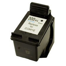 HP 300XL Black CC641EE Refilled Ink Cart for Deskjet D1600 D1660 D1663 D2500