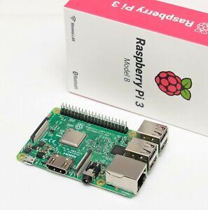 Raspberry Pi 3 model B, single board computer