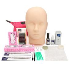 Lash Starter Kit Eyelash Extension Makeup Practice Set & Mannequin Training Head