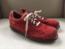 CAMPER RED RUST SUEDE OXFORDS LACE UP SHOES SIZE 36 (US 6)