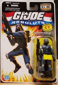 "G.I. Joe 25th Anniversary: Resolute Infantry Forces - Cobra Trooper 3.75"" Figure"