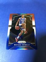 2019 Panini Red White Blue Prizm Matisse Thybulle 76ers RC Rookie 290