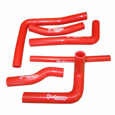 Honda Cr250 Cr 250r Radiator Silicone Hose Kit Pro Factory Hoses Red 00 01