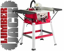 "Trade 1800w 10"" 250mm Bench Table Saw with Legstand Side Extensions & Blade 230v"