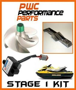 Mer Doo Rxt-Is/ Gtx-Is/ Rxt-X Comme Stage 1 Kit 2011-2014+260HP 70 + Mph Rotor