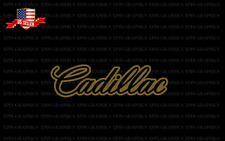 Decal Sticker Outline For Cadillac Vehicles
