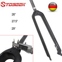 "26/27.5/29"" TOSEEK 28.6 mm Starre Gabel MTB Fahrrad Starre Carbon Gerade Gabel"