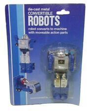 Vintage Gobots Machinerobo Knockoff - Blockhead (Blue Variant) *Moc Sealed*