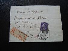 FRANCE - pli 1912 (cy66) french