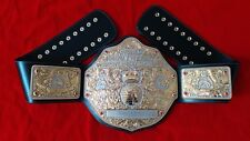 Fandu Big Gold Silver Gold Heavyweight Championship Commemorative Title Belt