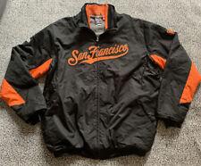 San Francisco Giants MLB Authentic Majestic Therma Base Jacket 2XL Black Orange