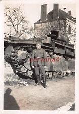 Franz. Panzer Renault Char D2 Guise Frankreich