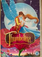 Thumbelina DVD 1994 Hans Christian Andersen Barry Mannilow Animated Family Movie