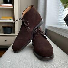 Crockett and Jones Chiltern Chukka Boots 11.5 E US12.5 Brown Suede 224 Dainite