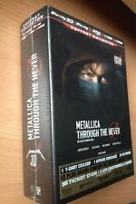 Metallica :Through the Never Blu-ray 3D + 2DVD + t-shirt + poster New Perfect