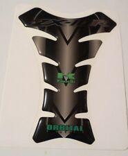 "ORBITAL TANK PROTECTOR GEL PAD - KAWASAKI ZX10R - BLACK/GREEN - 6.18"" x 7.95"""