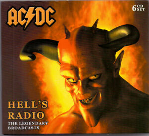 AC/DC - HELL'S RADIO THE LEGENDARY BROADCASTS - 6 CD - BRAND NEW - STILL SEALED