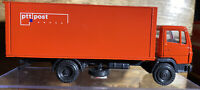 Vintage NZG (West Germany) 1/50 Red Mercedes-Benz Box Truck No.250 PTT POST