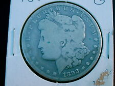 1892-CC MORGAN SILVER DOLLAR  OVER 124 YEARS OLD / PART OF UNITED STATES HISTORY