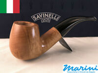 Smoking pipes pipe Savinelli 616 KS curve briar natural waxed wood made in Italy