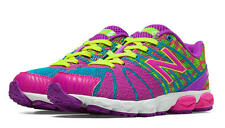 Girls New Balance Bright Colors Lace Lightweight Sneakers Girls Size 5 1/2 M