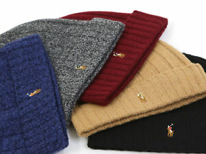 Polo Ralph Lauren Watch Cap Stocking Cap Biene Cap Hat - 5 colors -