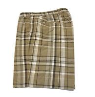 Bills Khakis Parker Short Classic Fit Plaid Chino Men's Short Size 44