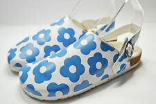 Mini Boden Sandals Leather Upper Shoes for Girls