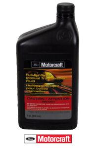 1 Quart Full Synthetic Manual Transmission Fluid OEM FORD Motorcraft XTM5QS