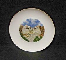 Mount Rushmore Presidential Souvenir Plate So Dakota Black Hills National Forest