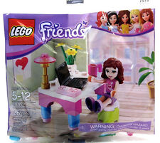 30102 OLIVIA'S DESK friends lego NEW poly bag legos set laptop