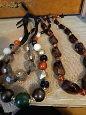 Joblot Beaded Necklaces  New