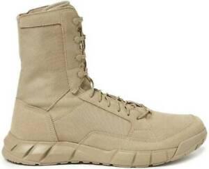 Oakley Men's Breathable Light Assault Boot 2 Desert Nylon Laces Sized 10.5 NEW