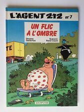 AGENT 212 UN FLIC A L OMBRE T 7 / BD EO 1987 / KOX & CAUVIN / DUPUIS / TBE