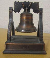V3952 Liberty Bell Die Cast Pencil Sharpener Philadelphia 1753 USA