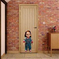 "Sticker Wall DECAL Child's play 2 Chucky good guy doll wall Halloween 35"""