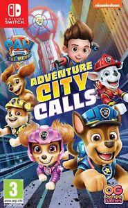 Paw Patrol: Adventure City Calls (Switch) Brand New & Sealed Free UK P&P