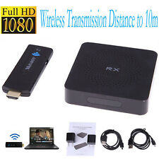 HD1080P HDCP Wireless 60GHz 10m HDMI in AV Sender TV Transmitter Receiver Audio