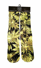 Odd Sox [marijuana Trees] SOCKS calze Weed canapa Kush POT Stay Tattoo Ink Odd S