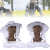Beekeeping Fishing Cowboy Hat Mosquito Bee Insect Net Cap Face Head Protector*ZD