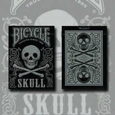 Brand New Cards - Bicycle Skull Metallic (Silver) Uspcc by Gambler's Warehouse